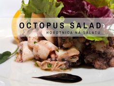 Croatian recipes in English: here is our recipe for easy-to-make Croatian octopus salad. Enjoy.