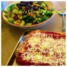 Treat Tuesday - My Mom's Cheese Lasagna