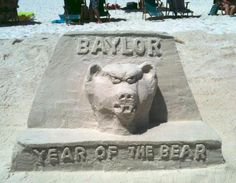 Baylor Beach Art!