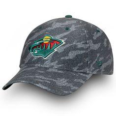 buy online 50f41 ae4f2 Men s Minnesota Wild Fanatics Branded Gray Made2Move Camo Flex Hat, Your  Price   27.99