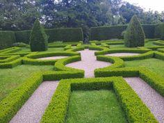 Little Moreton Hall - Knot Garden