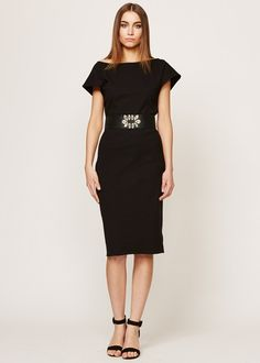 People Tree | Atelier Knee Length Evening Dress