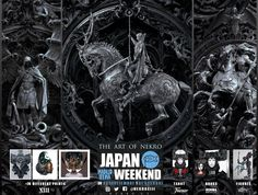 Nekro ~ You Are Not Prepared! 30 de septiembre 1 de octubre  all printed by Proyecto Arttiko NORMA EDITORIAL Naipes Fournier Nocturna models Japan Weekend Madrid #japanweekend #nekro #art #illustration