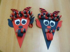 Chrismas Crafts For Kids, Crafts For 3 Year Olds, Christmas Crafts, Christmas Decorations, Arts And Crafts Projects, Projects For Kids, Fun Crafts, Diy And Crafts, Carnival Activities