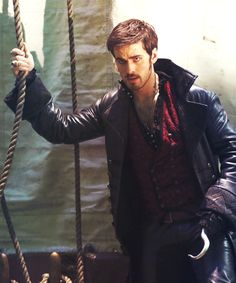 The Red Vest // Killian Jones // Captain Hook // Once Upon A Time