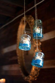 Ball jar lighting ideas