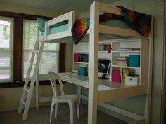 I build this Cottage Style Loft Bed.  loftmonkeycleveland @ gmail.com facebook.com/loftmonkey