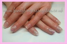 French Manicure with Roses. Gelish Nails, Manicure, French Nails, Fingers, Roses, Nail Art, Fancy, Wedding, Beauty