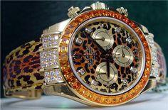 Daytona Safari Leopard Rolex. #TreatYoSelf #ParksandRec