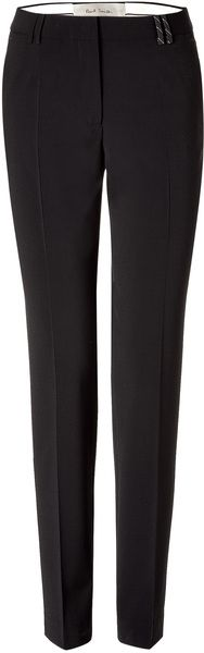 Black Straight Pants- a must!