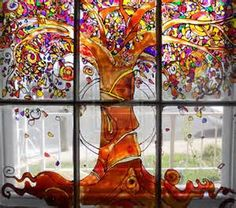 Glass Painting On Windows - Bing Images