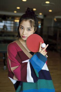 (画像2/5) 広瀬すずの「こんな表情もするの!?」が満載 貴重な卓球ショットも
