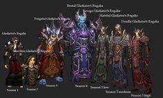 wow pvp gear | Mage sets - WoWWiki - Your guide to the World of Warcraft