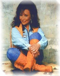 """Loretta Lynn (April 14,1935-) – Born Loretta Webb. Country music singer-songwriter, she was one of the leading country vocalists and songwriters during the 1960s and 1970s. The movie """"Coal Miners Daughter"""" is based on her life story. Born in Butcher Hollow, Kentucky."""