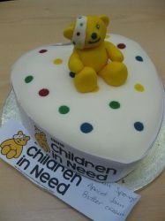 Pudsy - Children In Need Cake