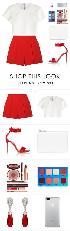 """Sin título #4738"" by mdmsb on Polyvore featuring moda, Alice + Olivia, Neil Barrett, Gianvito Rossi, Maison Margiela, Charlotte Tilbury, Lime Crime y McTeigue & McClelland"
