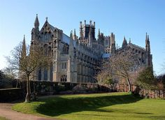 Ely Cathedral. We could be living right down the road from this! That's crazy cool! :)