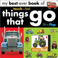 My Best Ever: Things That Go (My Best-Ever Books) by Make Believe Ideas http://www.amazon.com/dp/1782356096/ref=cm_sw_r_pi_dp_qXnwub0B888K5 / 11