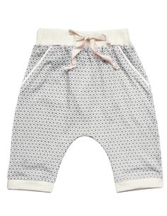 """""""Little Monsieur"""" concept store Sarouel bébé garçon Blune """"Se Tenir A Carreaux"""" Encre"""