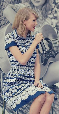 Taylor at a KEDS event today.