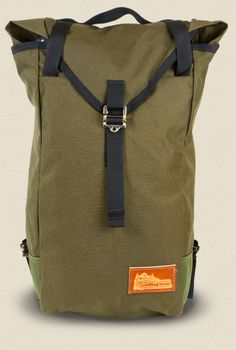 Market Bag – Olive – Head-On