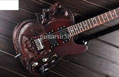 This is one cool guitar