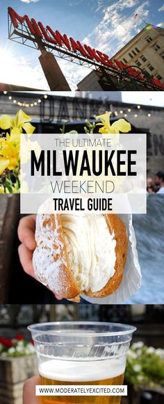 The ultimate Milwaukee weekend travel guide - everything you need to eat and drink in the magical brewery-filled dairyland!