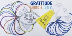 Being thankful can be tricky when life gets hard. Make a gratitude token for any age to remind us how lucky we are when we need it most! Paper Mache Tree, Paper Tree, Cd Crafts, Mason Jar Crafts, Burlap Crafts, Simple Table Decorations, Gratitude Jar, Burlap Christmas Tree, Plastic Bag Holders