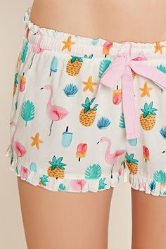 Forever 21 is the authority on fashion & the go-to retailer for the latest trends, styles & the hottest deals. Cute Sleepwear, Lingerie Sleepwear, Nightwear, Pajama Outfits, Pajama Shorts, Cute Outfits, Cute Pjs, Cute Pajamas, Pijamas Women