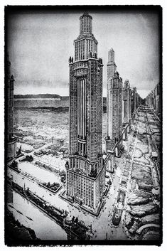 """CC Search """"Retrofuture"""" by michalkrzynowek is licensed under CC BY-NC 2.0 Donate Now, Retro Futurism, Mountain View, Empire State Building, The Past, Search, Creative, Image, Searching"""