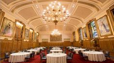 Hire Clothworkers' Hall - Banquet & Events Hall In London For Hire - Livery Hall For Weddings & Events In London. Wedding Events, Weddings, London City, Banquet, Ceiling Lights, Conference, Wedding, Banquettes, Outdoor Ceiling Lights