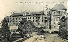 Blois Loir et Cher France 1907 Chateau de Blois Antique Vintage Postcard