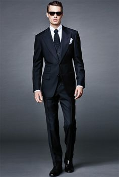 Tom Ford Menswear : Collection Bond Capsule 2016.