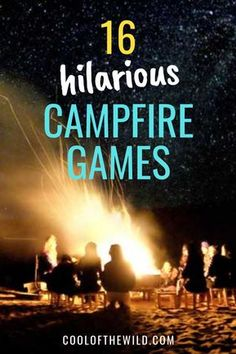 16 Hilarious Campfire Games for Adults and Families - Camping, Survival - Esporte ao Ar Livre Camping Snacks, Camping Diy, Backyard Camping, Camping Survival, Outdoor Camping, Walmart Camping, Camping Breakfast, Camping Recipes, Camping Cooking