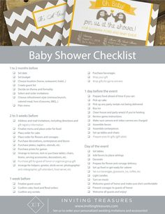 Baby Shower Planning Guide By Smilebox Learn How To Plan The