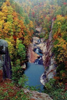 Autumn, Tallulah Gorge, Georgia