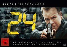24 heures chrono, l'intégrale totale en dvd : nouveaux visuels
