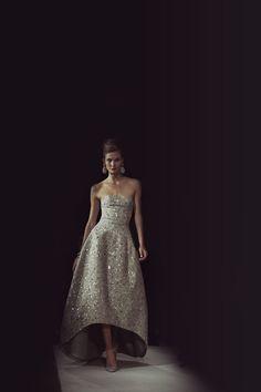 Karlie Kloss in Oscar de la Renta. Great photo.