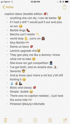 Snapchat Captions, Lit Captions, Instagram Captions For Selfies, Selfie Captions, Selfie Quotes, Picture Captions, Cool Captions, Instagram And Snapchat, Instagram Caption Lyrics