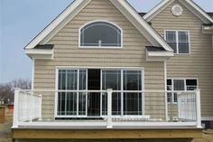 house outdoor stair railings