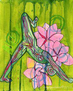 Yoga Art Print – The Gift – yoga wall art, yoga room decor, yoga artwork, yoga gift by Eliza Lynn Tobin by elizalynntobin Read Yoga Studio Design, Yoga Inspiration, Chakras, Reiki, Yoga Kunst, Yoga Room Decor, Yoga Thoughts, Yoga Images, Yoga Pictures