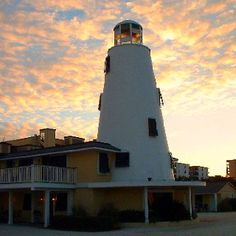 Lighthouse Inn- Gulf Shores Al.  Wow, this is an old picture!  We have actually stayed there twice!  Now it is a skyrise condo!