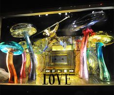 Holiday Windows 2014: See the Photos! - Barneys New York: Baz Dazzled, Love from #InStyle