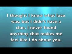 You - Chris Young {w/ lyrics} - gonna sing this one next!!!