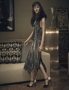 art deco-inspired style: isabelle nicolay by thomas cooksey for how to spend it 15th october 2014