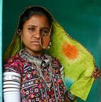 Femmes Meghwal Inde Gujarat