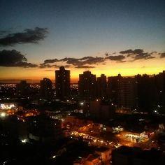 Minha cidade maravilhosa! Como eu amo ter essa vista!  #ribeiraopreto #pordosol #amoaqui #obrigadasenhor by magkurmann