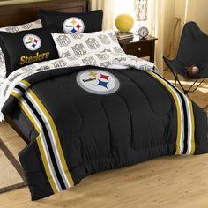 Best selling of NFL Pittsburgh Steelers Bedding Set, Full
