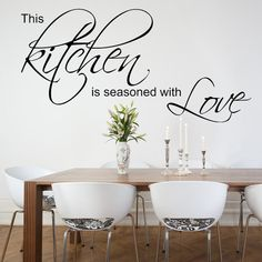 Wall Liques For Kitchen This Is Seasoned With Love Sticker Decals