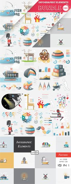 [40% OFF] Graphic Bundle by @newkoko2020 on @creativemarket #infographic #infographics #infographicelements #data #information #graphic #graphics #illustration #illustrations #2d #3d #flat #outline #illustrator #vector #bundle #infographicbundle #geometric #visualization #quality